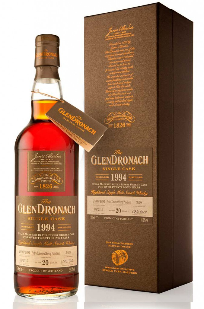 Glendronach 1994 20 Year Old PX Puncheon Single Cask 3398 batch 12
