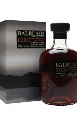 Balblair Vintage 2000, Single Cask 1343