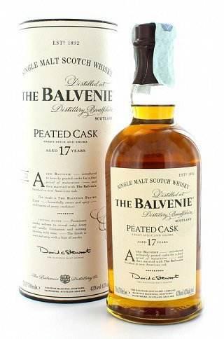 Balvenie 17 Peated Cask