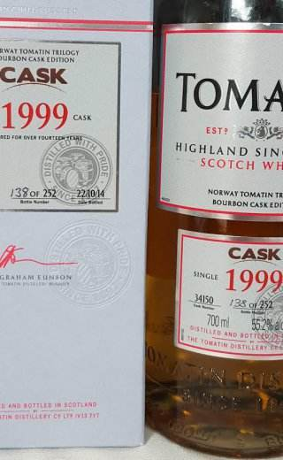 Tomatin 1999 Bourbon Cask Edition