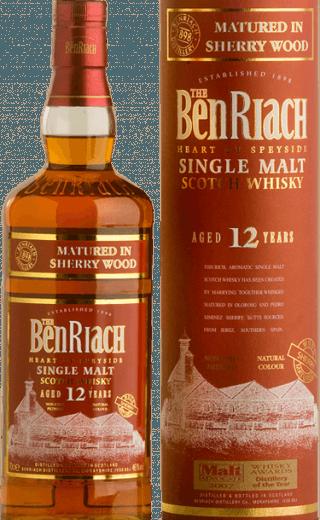 Benriach 12 sherry wood
